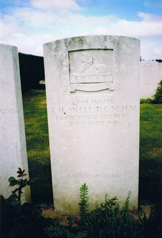 Cemetery, Forceville · Illumination & Commemoration
